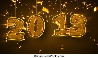 new year 2013 celebration confetti. Part 5.00-15.00 are...