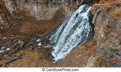 Rustic Falls Yellowstone - Rustic Falls of Yellowstone...