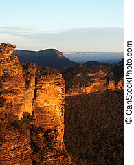 cliffs - This is North Katoomba.