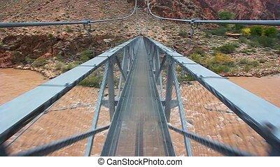 Walking Colorado River Bridge