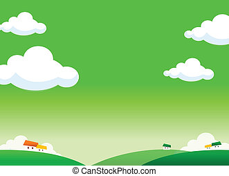 country side illustration - This illustration is a common...
