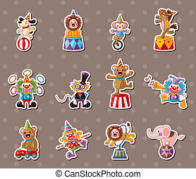 circus stickers
