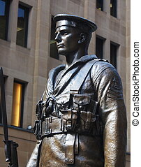 Solider - This is a solider statue