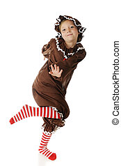 Happy, Dancing Gingerbread Girl - An adorable elementary...