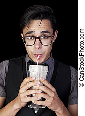 Geek With Milkshake