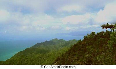 Island high viewpoint.