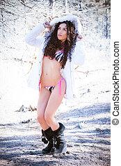 Winter Bikini