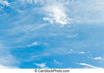 blue sky.  - blue sky.