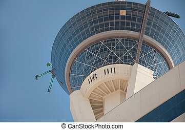 Las Vegas, NV - March 15, 2009: The Stratosphere Tower, the...