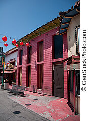 Chinatown - LOS ANGELES, CA - June 05,2010: The colorful...