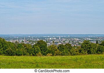 Bonn - View from Kreuzberg in Bonn, Germany
