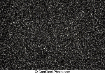 Synthetic Foam Texture - Black synthetic foam texture