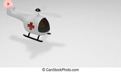 Medical helicopter - Funny look medical helicopter