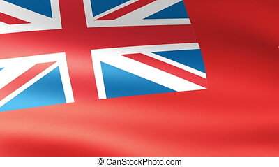 Manitoba Flag Waving