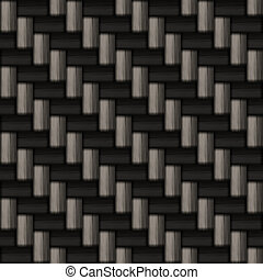 carbon fiber pattern - A diagonally woven carbon fiber...