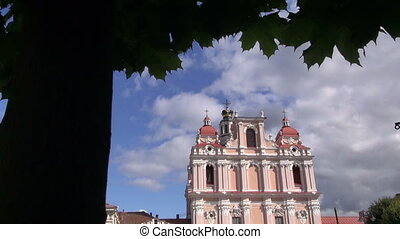 old Vilnius saint Casimir church - ancient Vilnius saint...