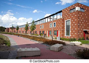 newin Almere Poort met zonnepanelen - new houses in Almere...