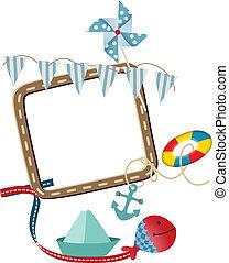 Nautical frame theme