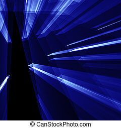 blue abstarct shine background - CG abstract backgrounds and...