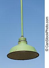 street light close up shot