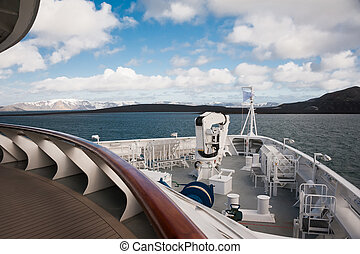 View from the ship - This shot was made during expedition to...