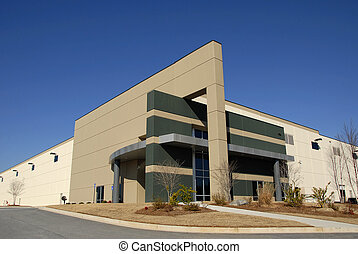 Modern Distribution Center - Modern New Commercial...