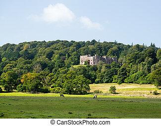 Muncaster Castle in Lake District - Muncaster Castle nestles...