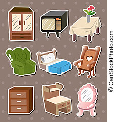 home furniture stickers