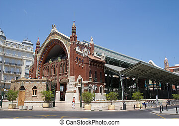 Mercado Colon - The Mercado Colon in Valencia, Spain.