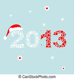 New Year's Eve greeting card for your design