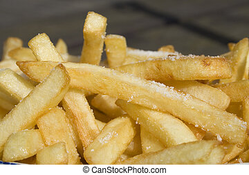 French fries - french fries in close up
