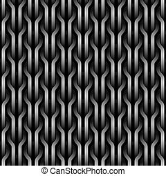 Seamless wickerwork pattern