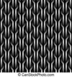 Seamless wickerwork pattern.