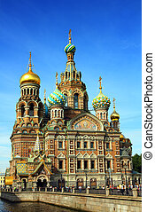 Christ the Savior Cathedral in St. Petersburg