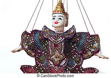 Puppet at Angkor Cambodia