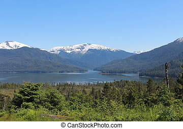 Alaska Wilderness Landscape - Landscape in the Tongass...