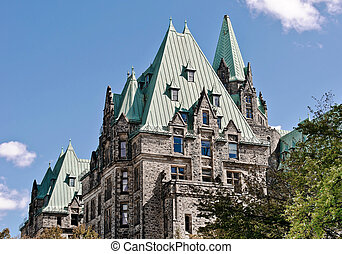 Parliament Confederation Building - The Canadian Parliament...