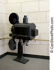 old cinema projector