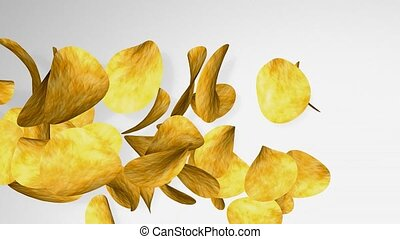 potato chips - Potato chips.