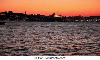 istanbul night - Istanbul at the night