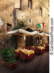 pintoresco, Rincón, Toscana