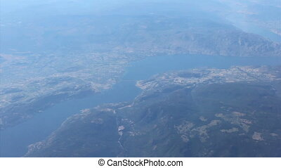 Aerial View Of West Kelowna