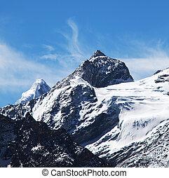 Himalaya - mountains in Sagarmatha region,Himalaya