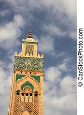 Casablanca, Morocco - Mosque Hassan II in Casablanca,...
