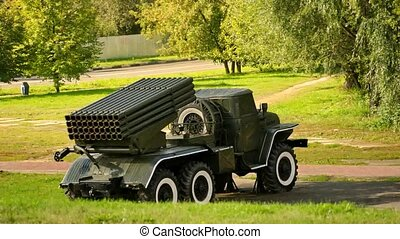 Grad Multiple-Launch Rocket System - Grad multiple-launch...