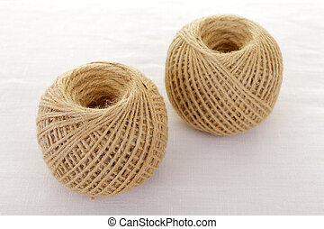 packing twine - Two balls of packing twine