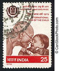 Mahatma,  Gandhi, bambino