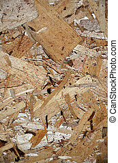 wood chipboard background - Close up of wood chipboard.