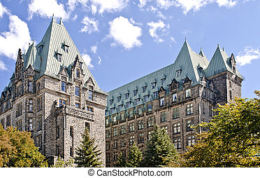 Confederation Towers - The Canadian Parliament Confederation...