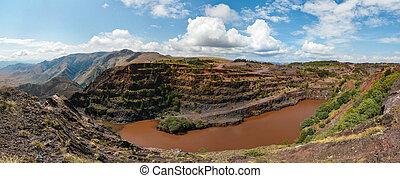 Ngwenya Iron Ore Mine - The Ngwenya Mine is located on Bomvu...